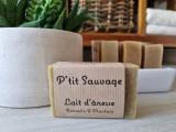 Boutique en ligne -  savon au lait d'ânesse - Romarin & Plantain - La p'tite ferme de Mélie à Batz-sur-mer - Office de tourisme La Baule-Presqu'île