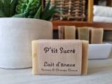 Boutique en ligne -  savon au lait d'ânesse - Sésame & orange douce - La p'tite ferme de Mélie à Batz-sur-mer - Office de tourisme La Baule-Presqu'île