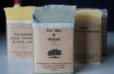 Boutique en ligne -  savon tea tree & menthe - La savonnerie d'Anaïs à Guérande - Office de tourisme La Baule-Presqu'île de Guérande