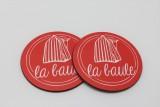 Boutique en ligne - Sous-verres La Baule rouge - Office de tourisme La Baule Presqu'île de Guérande