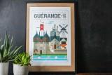 Boutique en linge - Affiche Quatre Vingt Trois - Guérande - Office de tourisme La Baule Presqu'île de Guérande