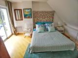 Chambre avec balcon - Villa Rymorden Le Pouliguen