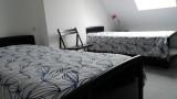 Chambre  lit simple  Maison 6 personnes -  M.ARNAUD La Turballe