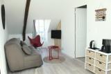 Guérande - Appartement Tour de la Gaudinais 5 personnes - Salon