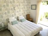 L'Annexe des Olliviers - Mesquer-Quimiac - chambre 1 - ouverte sur terrasse sud