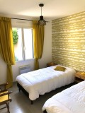 L'Annexe des Olliviers - Mesquer-Quimiac - chambre 2 - lits séparés