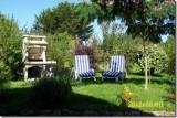 Location de chaumière en Brière 2 personnes - M.Mangin - Jardin