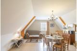 Location Green Cottage -salon séjour - saint-lyphard- brière