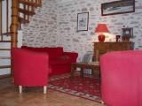 Maison 5 personnes - Mme Caillat - Piriac sur Mer - coin salon