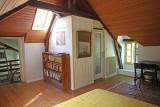 Mesquer - Location maison 2/4 personnes - Chambre avec bibliothèque