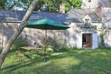 Mesquer - Location maison 2/4 personnes - Jardin avec table et parasol