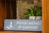 Pancarte Marais Salants de Guérande - Gris clair