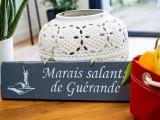 Pancarte Marais Salants de Guérande - Gris foncé