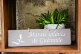 Pancarte Marais Salants de Guérande - Taupe