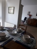 Salle à manger -Location de vacances de Madame Lecuyer Morilleau Le Pouliguen