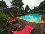 La terrasse et la piscine - Villa Rymorden Le Pouliguen