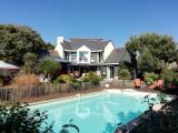 Vue sur la maison, le jardin et la piscine - Villa Rymorden Le Pouliguen