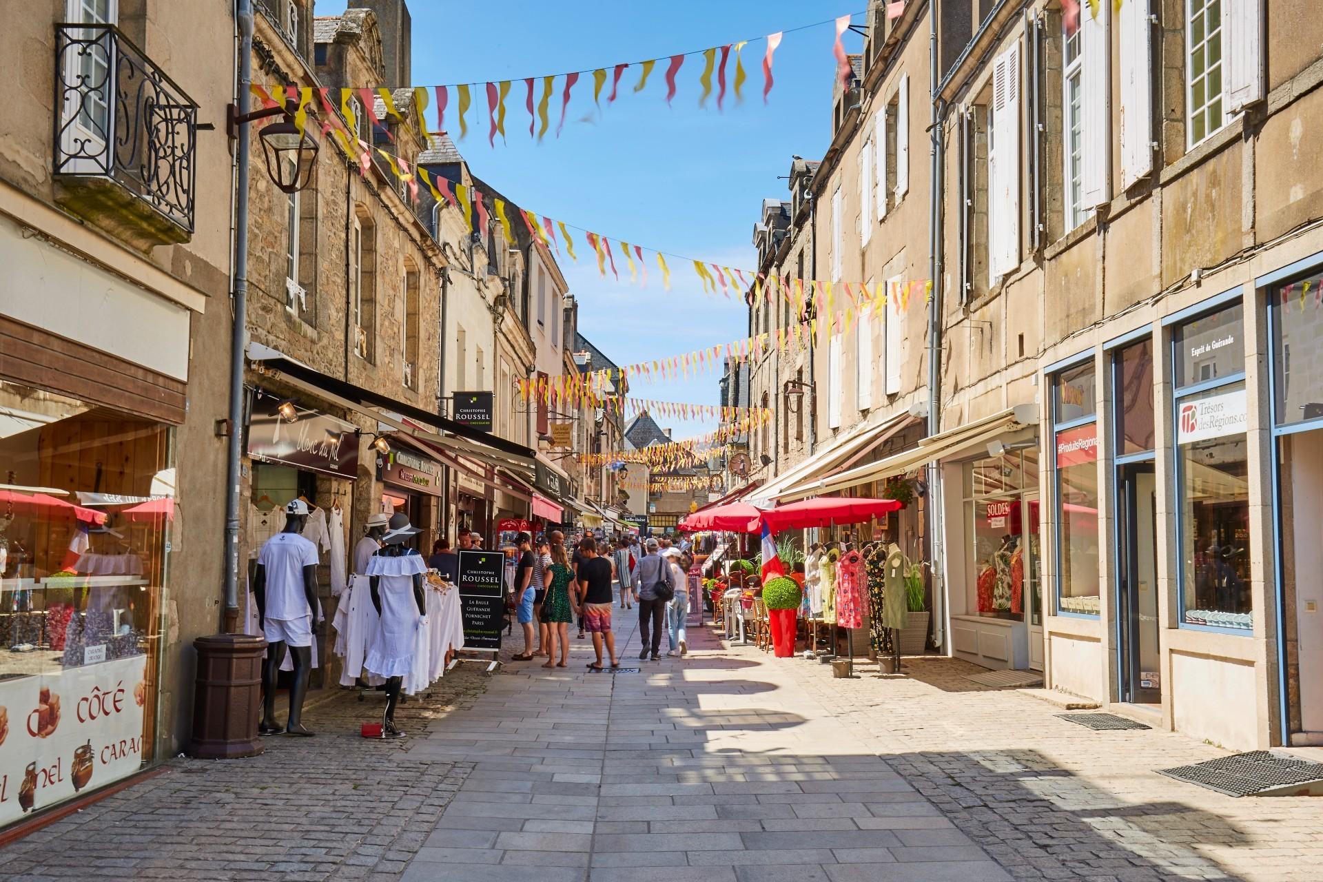 Flânerie dans les rues de Guérande