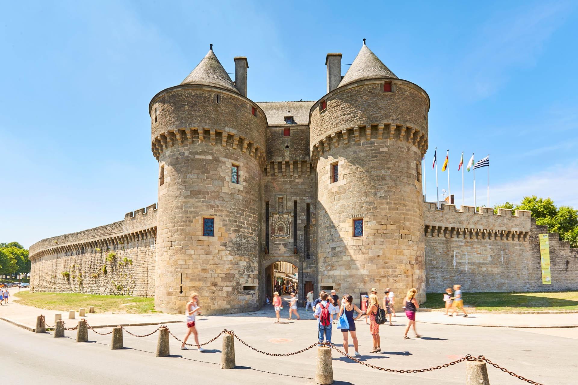 La porte Saint-Michel à Guérande