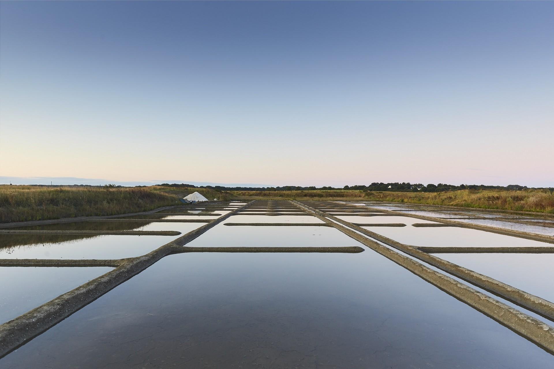 Marais salants du Mès en Presqu'île de Guérande