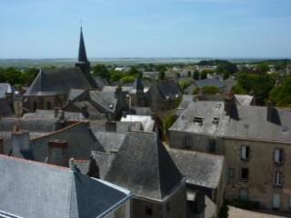 Guérande Ville d'art et d'histoire Visite Flash le clocher de la collégiale Saint-Aubin