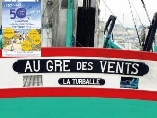 Les 50 ans du GR®34 - Visite guidée du bateau sardinier Au Gré des Vents