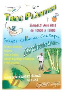 Troc plantes à Ste Reine de Bretagne