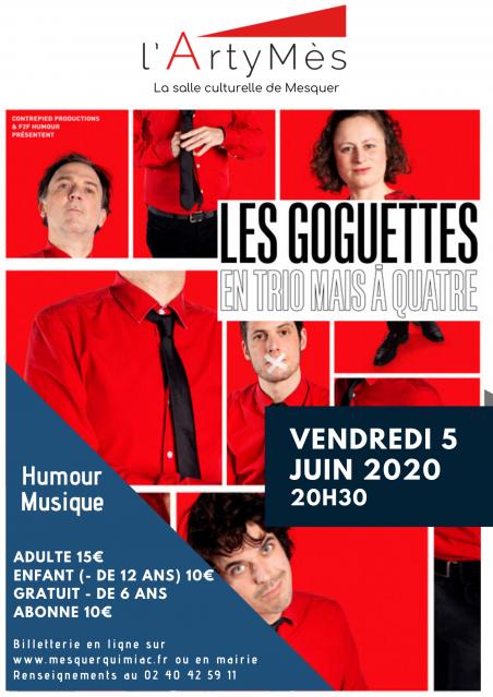 Affiche Les Goguettes