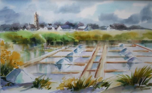 Watercolor courses by Jacqueline PELON