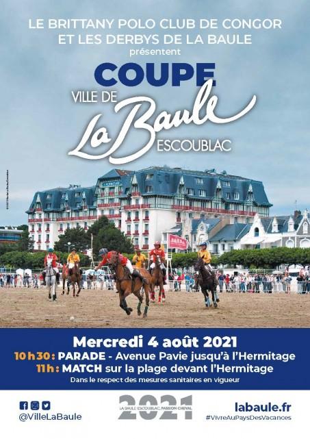 Affiche match Polo La Baule 2021