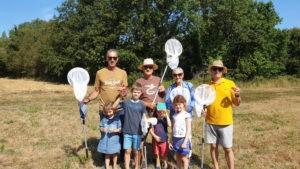 Amis des sites, découverte des papillons Mesquer-Quimiac