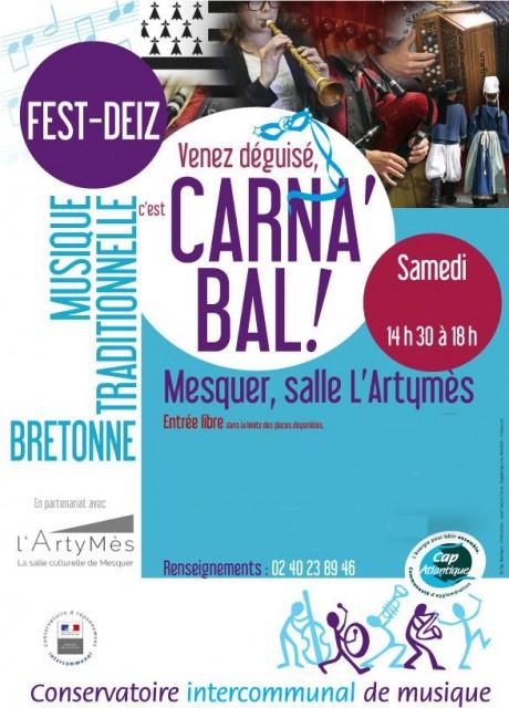 Carna'Bal - Fest-Deiz Déguisé