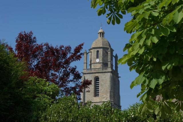 Clocher - Eglise Saint-Guénolé