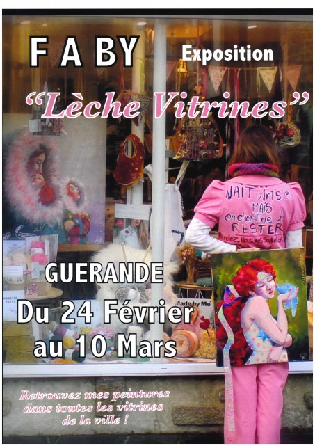 Exposition: Lèche Vitrines