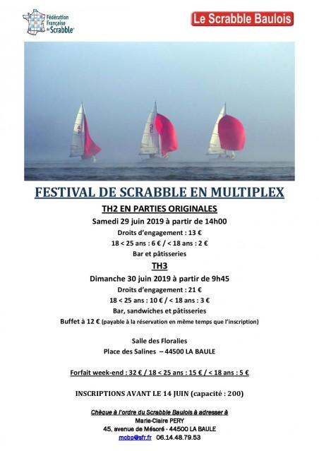 Festival de Scrabble - La Baule