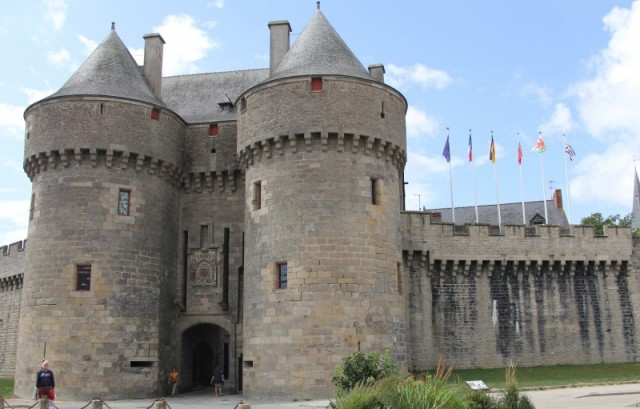 Guérande - Ticket for the Saint-Michel door and the Guérande museum