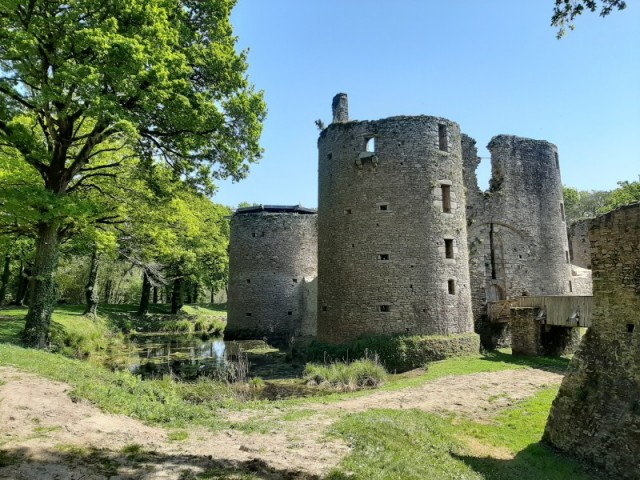 Herbignac - Guided tour of Ranrouët castle :