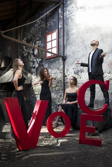 Itinéraire : Quatuor Voce