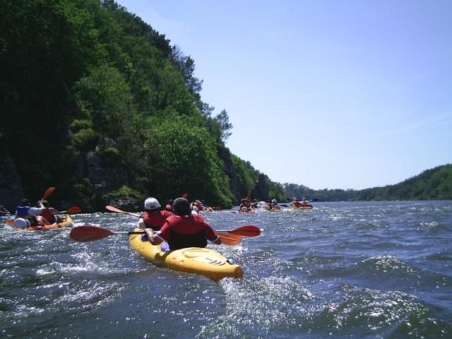 Blaise, loueur de canoes mais pas que...  kayak aventure - Blaise Mamet