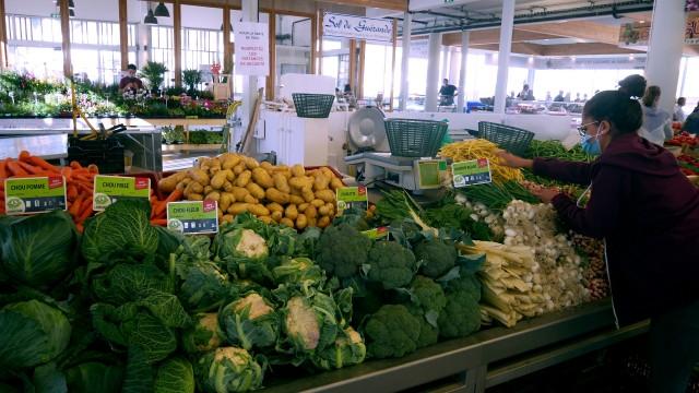 The market of  La Turballe