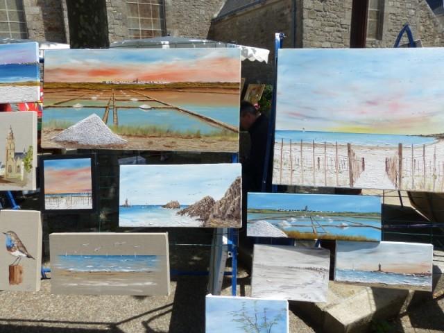 Marché de l'Art et de la peinture - Piriac sur Mer