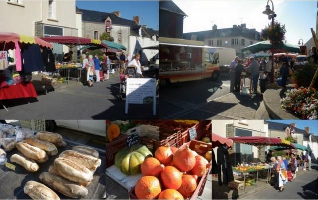 Marché hebdomadaire de Herbignac Bretagne Plein Sud Brière