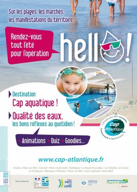 Opération de sensibilisation Hello Guérande