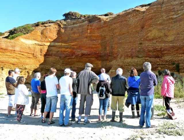 Pénestin - Visite géologique du site de la Mine d'Or