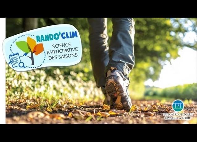 Rando'Clim : Science participative des saisons