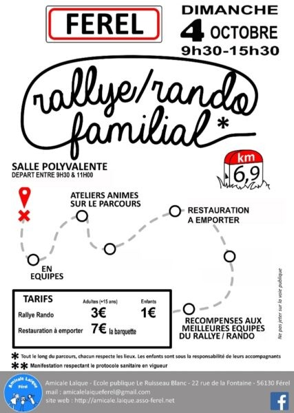 Rando/rallye familial Férel