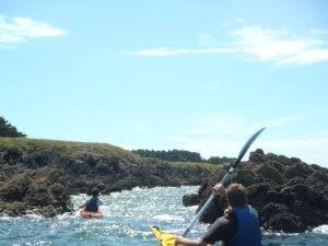 Randonnée accompagnée en Kayak de mer