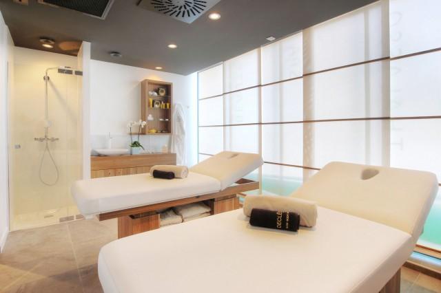 Salle de massage à la thalasso Rivage à la Baule