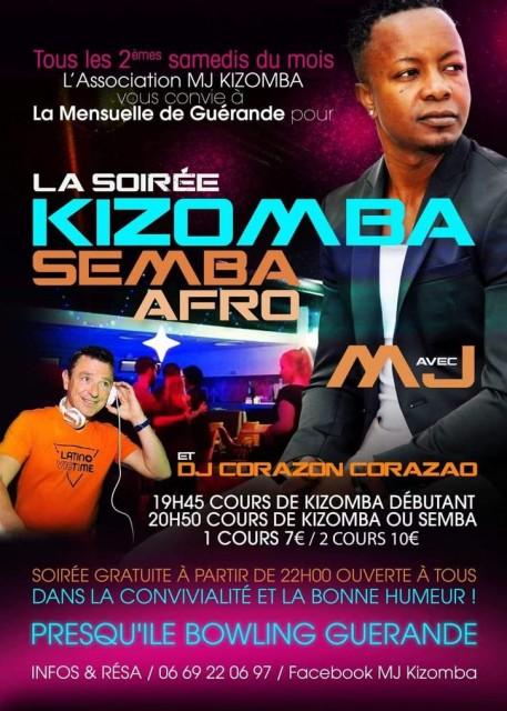 Soirée Kizomba Semba Afro
