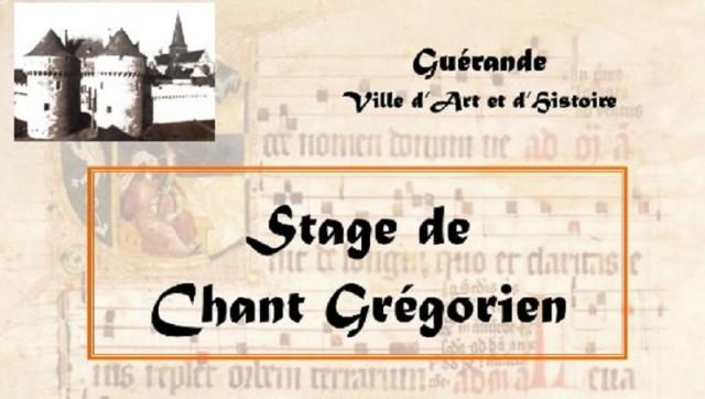 Stage de Chants Grégoriens
